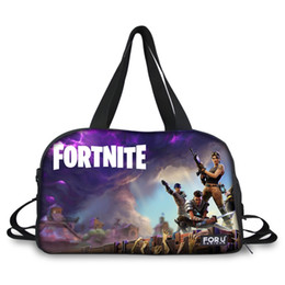 76fd981c69e Customized Images Fortnite Game cool print Luggage Travel Bag for Women  Large Nylon Travel Duffle Tote Bags with Shoe Pocket