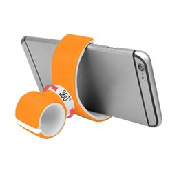 $enCountryForm.capitalKeyWord UK - 360 DEGREE Rotating Air Vent Mount Bicycle Car Cell Phone Holder Double C Style Stand Portable Universal for Iphone Samsung with retail box