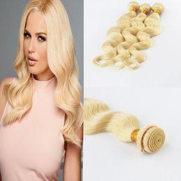 "Discount bleach hair dye - High Quality Brazilian 3Pcs Lot 100% Virgin Human Hair 8""-30"" Body Wave Human Hair Weaves Bundles In Hair Exen"