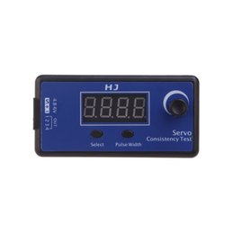 servo rc helicopter UK - HJ Digital Servo Tester   ESC Consistency Tester for RC Helicopter Airplane Car T0080