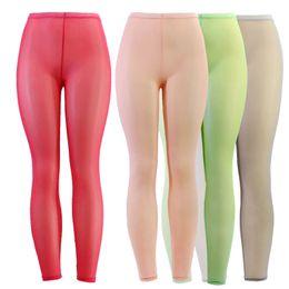 Women See Through Leggings Distributeurs en gros en ligne e7659adc206