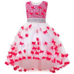 8b0435511d0 Girl Summer Dress Kids Clothes Flower Girls Dress For Wedding Events Party  Baby Girl Birthday Dress Children Clothing