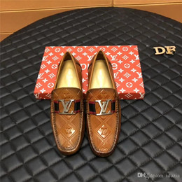 $enCountryForm.capitalKeyWord Australia - Good Quality Mens Doug LowCut Loafers Casual Shoes Gommino 100% Genuine Leather Designer Drive Party Wedding Dress Shoes SZ38-44