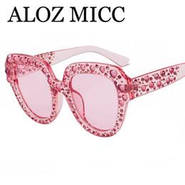 05cfb691caefd Sun cryStalS online shopping - ALOZ MICC luxury sunglasses crystal rim  women designer sunglasses cat eye