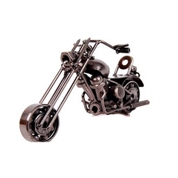 $enCountryForm.capitalKeyWord UK - Modern Home Office Decoration Furniture Mini Motorcycle Display Models Figures Art Craft Antique Style Different Designs and Color