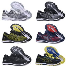 Asics running shoes for womAn online shopping - Whosale Asics Gel Nimbus Men Women Running Shoes High Quality Cheap Training Lightweight Sneakers For Sale Online Size