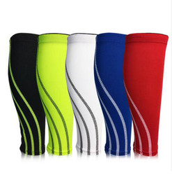 7ffddc31ff 1 PC Football Basketball Calf Leg Brace Warmers Supports Breathable Cycling Calf  Sleeve Compression Skin Protector 5 Colors