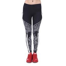 $enCountryForm.capitalKeyWord UK - Women Leggings Black Bandana Paisley Star 3D Graphic Print Girls Workout Spring Summer Autumn Stretchy Capris Yoga Pants Trousers (J40543)