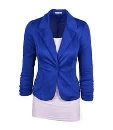 $enCountryForm.capitalKeyWord UK - Fashion Women Suit Blazer Candy Color Blazers Jacket coats Cotton & Spandex OL Jacket Outwear 19 Color 6 Sizes Feminino Coat Suits