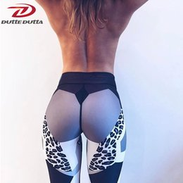 Tight White Yoga Pants Australia - Sexy Leopard White Yoga Sweat Pants Workout For Women Sport Legging Gym Moto Legentsy Sportswear Fitness Tight Athletic Clothing