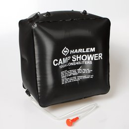 Discount heated camp shower - 40l Solar Heating Hiking Camping Camp Shower Bag Case Outdoor Washing