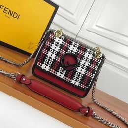 Hollow Chains Design Australia - 4405 KANI hand-woven series F hollow fashion small shoulder bag new Chain Flap Bag HANDBAGS SHOULDER MESSENGER BAGS TOTES