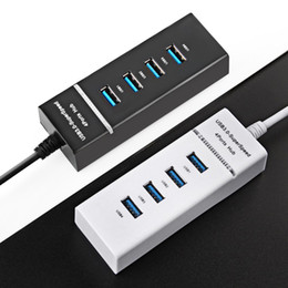 China Super Speed USB 3.0 Hub 4 Port 5Gbps Micro USB Hub High Quality Hub USB Splitter Adapter For PC Computer Peripherals Accessories suppliers
