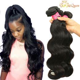 Brazilian wavy hair 16 inches online shopping - Peruvian Body Wave Hair Bundles Wet And Wavy Peruvian Virgin Hair Body Wave Extensions Brazilian Malaysian human hair bundles