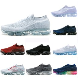 new concept cd4bc ce3a5 Air Cushion Mxamropavs Women Men Running Shoes Colorful White Black Grey  Blue Rainbow Sports Hiking Jogging Walking Outdoor Sneakers