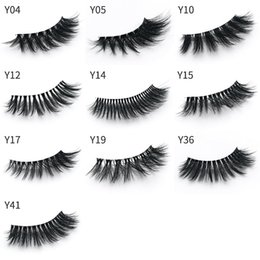 $enCountryForm.capitalKeyWord Australia - Professional 3D Mink Eyelashes Natural Long Handmade False Eyelashes Eye lashes Makeup Fake Eyelashes Pack Full strip EyeLash Extension