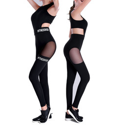 one piece spandex clothes UK - One Piece Sexy Women Gym Fitness Clothing Suit Quick Drying Elastic Fitness Tights Running Tight Jumpsuits Sports Yoga Sets