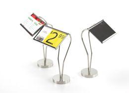 $enCountryForm.capitalKeyWord NZ - Restaurant Food Name Price Name Card Display Table Label Holder Stand Food Name Tag Frame Stand Desk Sign Paper Card Display Rack Metal Tag