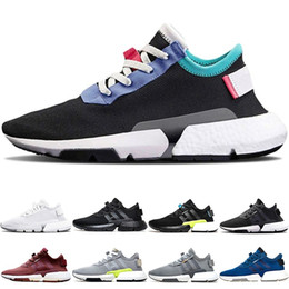8a36000c1cc4 SyStem ShoeS online shopping - P O D S3 System Men Women Sport Running  Shoes Triple Black White