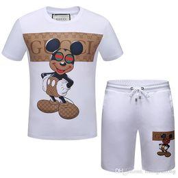 824a367a8b59 Design fashion New Arrived Summer Men s T-Shirts Sport Suit Men Short  Sleeve Print t-Shirt and Shorts Sets Men s polo t-shirt 3XL
