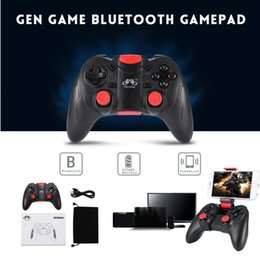 Discount gamepad controller ios - GEN GAME S6 Deluxe Wireless Bluetooth Gamepad Game Controller for iOS Android Smartphones Tablet Windows PC TV Box with