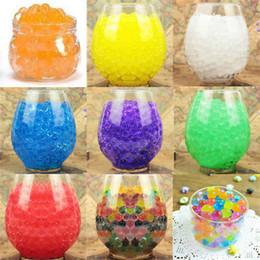 10000 pz / pacchetto colorato orbeez cristallo morbido acqua paintball pistola proiettile crescere perline acqua crescere palle pistola ad acqua giocattoli di cristallo terreno in Offerta