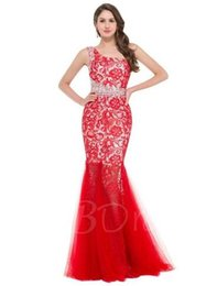 Spaghetti Strap Beaded Cocktail Dresses UK - One-Shoulder Lace Beaded Sheath Lace Evening Dress