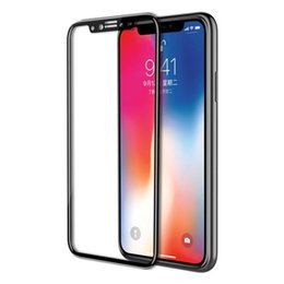 $enCountryForm.capitalKeyWord NZ - Tempered Glass for IPhone XS MAX XR 6.1 Inch New IPhone XR   Screen Printing HD   Purple Light   Second - Best Screen Printing