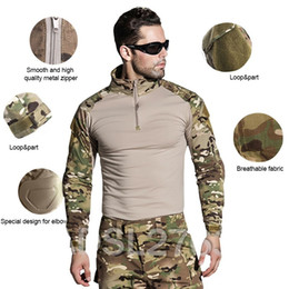 Discount army full combat uniform - US Army Multicam Combat Camouflage Shirt Military Uniform Shirts Tactical Hunting Clothing