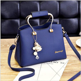 sac main marque femme 2019 - Famous luxury brand Design high quality Shoulder Bag marque 2018 Femme Large Messenger clutch cross body Lady tote sac a