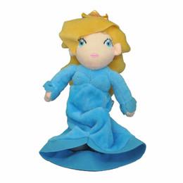 "Mario Rosalina Plush Toys UK - Hot New 9"" 23CM Super Mario Bros Rosalina Plush Doll Anime Collectible Dolls Gifts Stuffed Soft Toys"