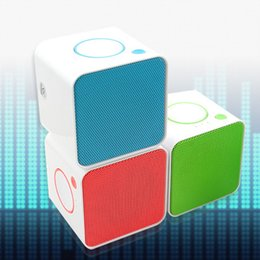 $enCountryForm.capitalKeyWord UK - 2018 new small square shape Bluetooth speaker card wireless bluetooth outdoor portable mini audio creative gift subwoofer