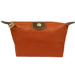 $enCountryForm.capitalKeyWord NZ - Hot sale fashion Women nylon luxury wallets famous brand Change Purse Storage Bag girl Dark Orange cheap purse women's good quality france