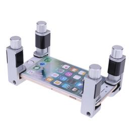 4 adet Evrensel Plastik Kelepçeler Fikstürü Ayarlanabilir LCD Ekran Kelepçeleri Klip Tablet Cep Telefonu Tamir Aracı Kiti Raptiye