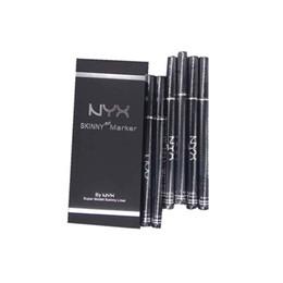 Chinese  In stock !NEW NYX Cosmetics Liquid Eyeliner Waterproof Black Liquid Eyeliner Eye Liner Pencil Make up Long Lasting manufacturers