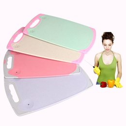 Cutting boards plastiC online shopping - Plastic Cutting Boards Durable Kitchen Tool Non Slip Chopping Board Multi Color High Quality jd2 C R