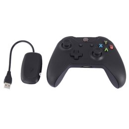 xbox wireless receiver for pc 2019 - 2.4GHz For Xbox one PC Game Remote Gamepad Joystick Joypad with Receiver For Microsoft Wireless XBOX One Controllers Lap