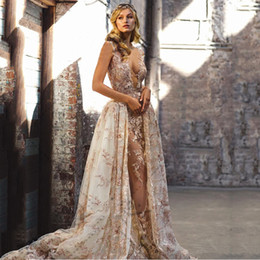 Black evening dresses for ladies online shopping - 2018 Muted Color Lace Appliques Sexual Prom Dress See through Evening Party wear for Fat Brides Lady Custom Made Plus size Formal Maxi Gowns