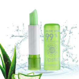 $enCountryForm.capitalKeyWord Australia - Women's Aloe Vera Waterproof Long Lasting Moisturizing Color Changing Lipstick Lip Gloss Blam Do not fade lip gloss