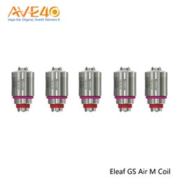 China Eleaf GS Air M 0.35ohm Coil Head For Eleaf GS Drive Tank 5pcs  pack 100% Original supplier drive packs suppliers