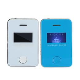 Mini Digital Audio Australia - Cewaal MP3 Player Mini Digital Hifi Music Player Audio 1.1 inches LCD Sports Jogging Support Loud Speaker TF Card Gift