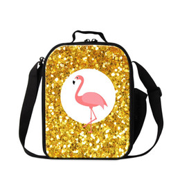 $enCountryForm.capitalKeyWord Australia - Thermal Insulated Lunch Bag For Children Cute Animal Flamingo Designer Cooler Bags For Women Small Ice Packs Girl Boy Food Picnic Lunch Box