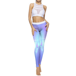 Yoga Pants Sales UK - Women Print Sports Gym Yoga Running Fitness Leggings Pants Athletic Trouser Newest Style Hot Sale Digital Printed Yoga Leggings
