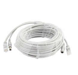 ethernet ip cable NZ - 5M 10M 15M 20M RJ45 Lan Cable Ethernet Patch Link Network Lan Cable Cord Network Cables for IP Camera