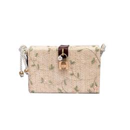 $enCountryForm.capitalKeyWord Canada - Summer Crossbody Bags For Women 2018 Luxury Handbags Women Bags Designer Famous Brand Ladies lace Beach Bag Wicker Straw Bag