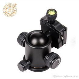 China QZSD-03 Q03 Professional 360 degree Panoramic Swivel Camera Tripod Head Fitting For Sirui Benro Manfrotto suppliers
