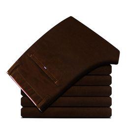 Discount smart clothing - 6 Color Khaki Corduroy Winter Autumn Men Pants Smart Casual Straight Long Trousers Business Office Mens Clothing A887