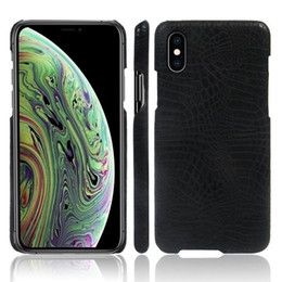 $enCountryForm.capitalKeyWord Australia - 3D Anti Slip Leather Crocodile Grain Phone Case Cover For iPhone X Xr Xs Max 8 7 6 6S Plus iphone 5S Soft Silcone Back Cover Shell