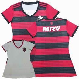 New CR Flamengo 2018 2019 camisa de futebol 18 19 longe de casa Camisa de futebol GUERRERO DIEGO Camisa de futebol feminino VINICIUS JR S-XL