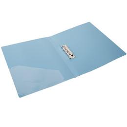 China 1pcs Deli 5111 color elegant single clip inserts the A4 folder folder bag clip folder paper sorting office suppliers